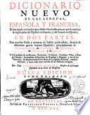 Dicionario Nuevo De Las Lenguas, Española Y Francesa