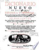 Dicionario nuevo de las lenguas Española y Francesa
