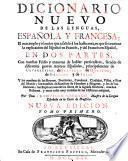 Dicionario Nuevo De Las Lenguas, Española Y Francesca