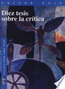 Diez tesis sobre la crítica