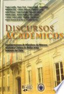 Discursos académicos (1995-2007)