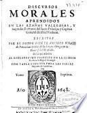 Discursos morales aprendidos en las azañas valerosas y sagradas fortunas del iuez-pricipe y capitan de Israel Gedeon