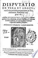 Disputatio de vera et legitima colocynthidis praeparatione, ac trochiscorum alandahal congruo usu