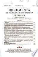 Documenta de Medicina Geographica Et Tropica