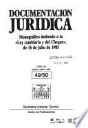 Documentación jurídica