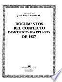 Documentos del conflicto dominico-haitiano de 1937