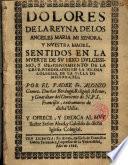 Dolores de la Reyna de los Angeles Maria ...