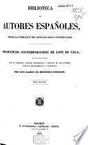 Dramáticos contemporáneos a Lope de Vega