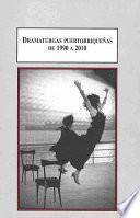 Dramaturgas puertorriquenas de 1990 a 2010