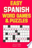 Easy Spanish Word Games and Puzzles