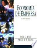 Economía de empresa