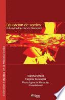 Educacion De Sordos
