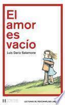 El amor es vacío