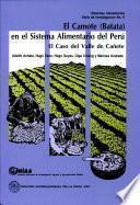 El Camote (batata) en el sistema alimentario del Perú