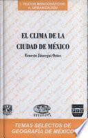 El clima de la ciudad de México