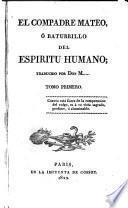 El Compadre Mateo, ó Baturrillo del espíritu humano