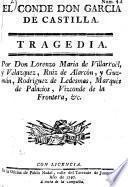 El Conde don García de Castilla