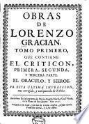 El criticón ; El oraculo ; El heroe