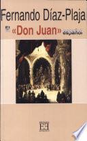 El «Don Juan» español