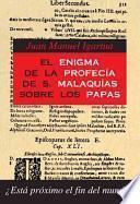 El enigma de la Profecía de san Malaquías sobre los Papas