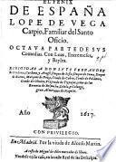 El Fenix de España, L. de V. C., Octava parte de sus comedias, etc