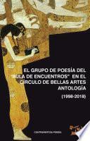 """El Grupo de Poesía del """"AULA DE ENCUENTROS"""" en el circulo de Bellas Artes"""