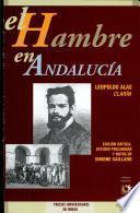 El hambre en Andalucía