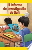 El informe de investigación de Rafi: Fragmentar el problema (Rafi's Research Paper: Breaking Down the Problem)