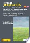 El liderazgo educativo en Europa: Una aproximación transcultural
