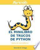El minilibro de trucos de python