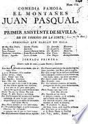 El montañes Juan Pasqual y primer asistente de Sevilla