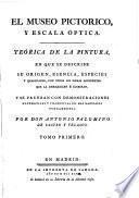 El museo pictorico, y escala óptica: Theorica de la pintvra