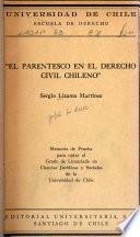 El parentesco en el derecho civil chileno