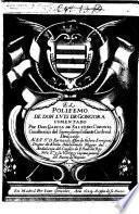 El Polifemo de Don L. de G. comentado por Don Garcia de Salzedo Coronel, etc