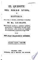 El Quijote del siglo xviii, ó Historia de la vida y hechos, aventuras y fazañas de mr. Le-Grand