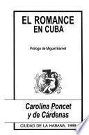 El romance en Cuba