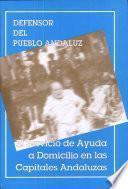 El servicio de ayuda a domicilio en las capitales andaluzas. Enero 1995