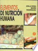Elementos de Nutrición Humana