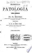 Elementos de patología y de clínica quirúrgicas