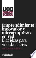 Emprendimiento innovador y microempresas en red