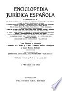 Enciclopedia jurídica española