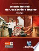Encuesta Nacional de Ocupación y Empleo. Hidalgo. ENOE 2009