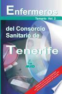 Enfermeros Del Consorcio Sanitario de Tenerife. Temario Volumen Ii. E-book