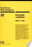 Entrevistas cualitativas