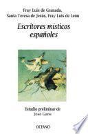 Escritores místicos españoles