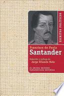 Escritos Politicos De Francisco De Paula Santander