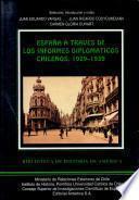 España a través de los informes diplomáticos chilenos, 1929-1939