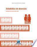 Estadística de divorcios. Descripción de la base de datos 1993