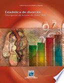 Estadística de divorcios. Descripción de la base de datos 1999