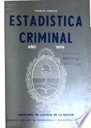 Estadística general de la criminalidad en la República Argentina